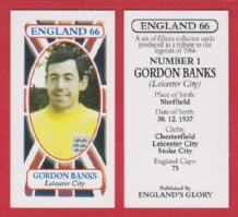England Gordon Banks Leicester City